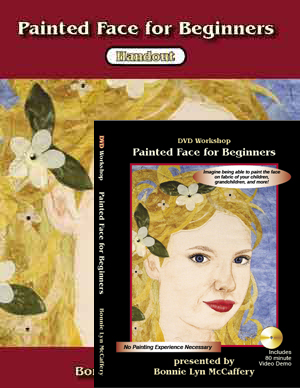 Painted Face for Beginners Workshop on DVD